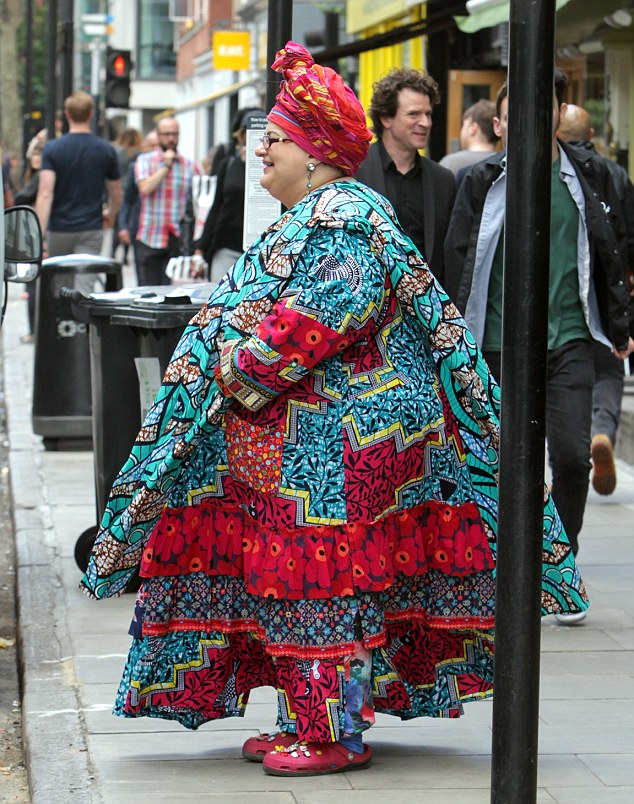 Former Director of the charity Kids Company, Camila Batmanghelidjh seen at the highly priced celebrity restaurant Pied a Terre in London. Camila spent 2 hours in the posh eaterie after she left in her chauffeur driven £32,000 toyota hibrid car. The chauffeur was the same man as she used to have when she was at the helm of the failed charity Kids Company. Only one month ago the restaurant hosted the 101st birthday of american multi billionairre David Rockefeller who chose the very same place for his celebrations.